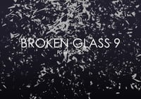Free Broken Glass Photoshop Bürsten 9