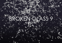Free Broken Glass Photoshop Brushes 9