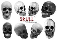 20 Skull PS Brushes abr vol.8