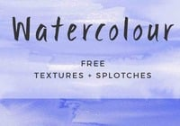 Free hand-painted watercolour backgrounds