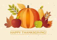 Thanksgiving Autumn Vector Pumpkin