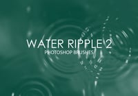 Libre de agua Ripple Photoshop Brushes 2
