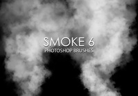 Free smoke photoshop brush 6