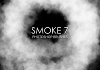 Free Smoke Pinceles para Photoshop 7