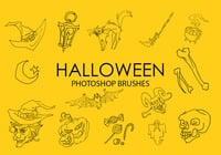 Escovas gratuitas do Photoshop de Halloween