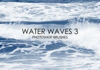 Free Water Waves Photoshop Brushes 3