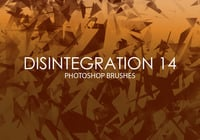 Free Disintegration Photoshop Brushes 14