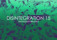 Free Disintegration Photoshop Brushes 15