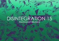 Pinceaux Free Photoshop de désintégration 15