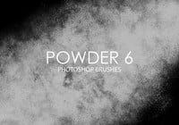 Free Powder Pinceles para Photoshop 6
