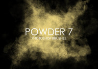 Free Powder Photoshop Pinsel 7