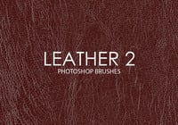 Free Leather Photoshop Brushes 2
