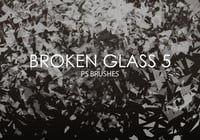 Free Broken Glass Photoshop Bürsten 5