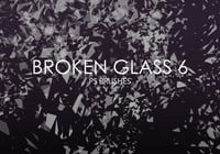 Free Broken Glass Photoshop Brushes 6
