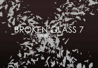 Gratis Broken Glass Pinceles para Photoshop 7