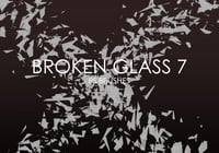 Free Broken Glass Photoshop Brushes 7