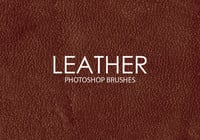 Free Leather Photoshop Pinsel