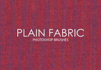 Free Plain Fabric Photoshop Brushes