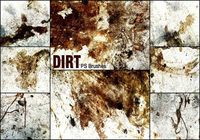 20 Dirt PS Brushes abr vol.9