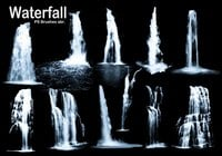 20 Waterfall PS Brushes abr. Vol.3