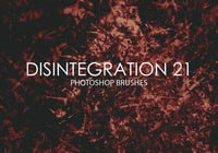 Free Disintegration Photoshop Brushes 21