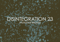 Free Disintegration Photoshop Brushes 23