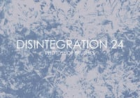Free Disintegration Photoshop Brushes 24