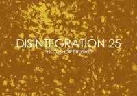 Free Disintegration Photoshop Brushes 25