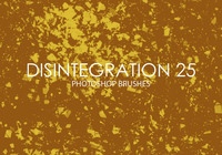 Kostenlose Desintegration Photoshop Brushes 25
