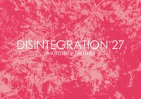 Free Disintegration Photoshop Bürsten 27