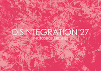 Free Disintegration Photoshop Brushes 27