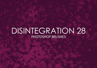 Free Disintegration Photoshop Brushes 28