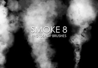 Gratis Smoke Photoshop Borstar 8