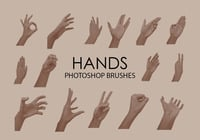 Free Hands Pinceles para Photoshop