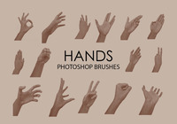 Free Hands Photoshop Bürsten