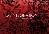 Free Disintegration Photoshop Brushes 11