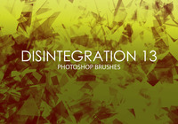 Free Disintegration Photoshop Brushes 13