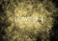 Free Powder Pinceles para Photoshop 4
