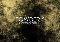Free Powder Photoshop Brushes 5