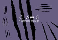 Free Claw Photoshop Brushes 5