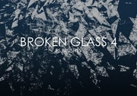 Gratis Broken Glass Pinceles para Photoshop 4