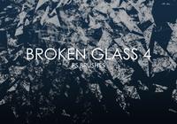 Brosses de photoshop en verre cassé gratuites 4