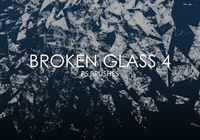 Free Broken Glass Photoshop Brushes 4