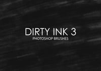 Gratis Dirty Ink Photoshop Brushes 3