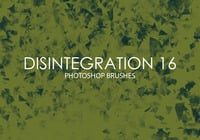 Free Disintegration Photoshop Bürsten 16