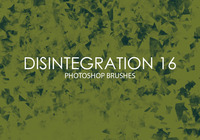 Free Disintegration Photoshop Brushes 16