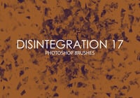 Free Disintegration Photoshop Brushes 17