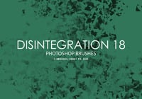 Free Disintegration Photoshop Bürsten 18