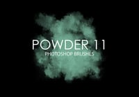 Gratis Powder Photoshop Borstar 11