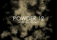 Free Powder Photoshop Brushes 12